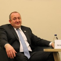 Image of Giorgi Margvelashvili (Source: https://www.flickr.com/photos/pism_thinkthank_poland/16128829308/in/photolist-qzft2W-p5rnkE-qznJNx-qRPmqV-kMyis3-kMwaPn-kMyinJ-kMyiD5-kMwSvR-kMwatn-kwfNgT-kwhTA5-qsaRSe-kwgfJa-p5KmBT-kwhTJm-kMwauV-kwhTEd-kMwaE4-kwgfun-oNg4du-qRPGwM-kwhTu3-pvpYGX-hMtWZc-qe)