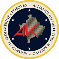 Logo of Alliance for the Future of Kosovo  (Source: https://en.wikipedia.org/wiki/Alliance_for_the_Future_of_Kosovo#/media/File:Aleanca_p%C3%ABr_Ardhm%C3%ABrin%C3%AB_e_Kosov%C3%ABs.svg)