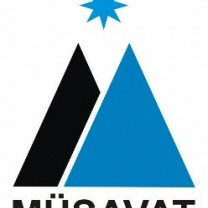 Logo of Equality Party (Musavat)