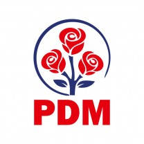 Logo of Democratic Party of Moldova