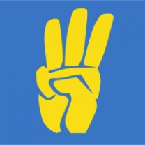"Logo of All-Ukrainian Union ""Svoboda"""