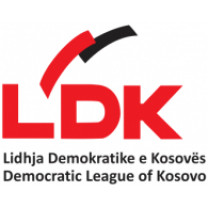 Logo of Democratic League of Kosovo (Source: https://en.wikipedia.org/wiki/Democratic_League_of_Kosovo#/media/File:Lidhja_Demokratike_e_Kosov%C3%ABs_(logo).svg)