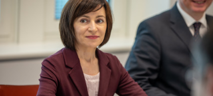 Pro-European candidate Maia Sandu becomes Moldova's first female president