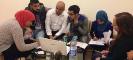 Future Leaders follow-up training in Petra