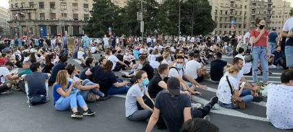 Seeing the bigger picture: protests in Serbia are not an anti-confinement reaction