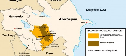 Possible ceasefire after four days of heavy fighting in Nagorno-Karabakh