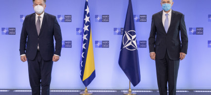 "NATO and Bosnia-Herzegovina respond to ""twisted threats"" by Russia"