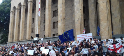 Georgian opposition seeks to revitalize anti-government campaign