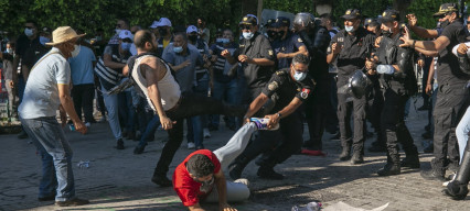 Police abuses in Tunisia call into question democratic transition in the country