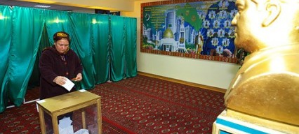 Turkmenistan's first multi-party elections held without opposition