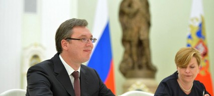 Serbia's balancing act between the West and Russia
