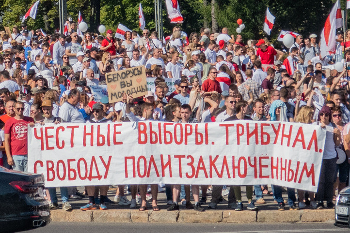 "Tikhanovskaya: if the protests stepped back now Belarusians would be ""slaves"""