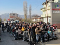 EU-Turkey agreement 'closes' the Balkan refugee route: solution or displacement of the problem?