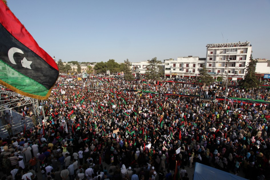 Libya's rival leaders reach agreement in Paris to hold elections in December
