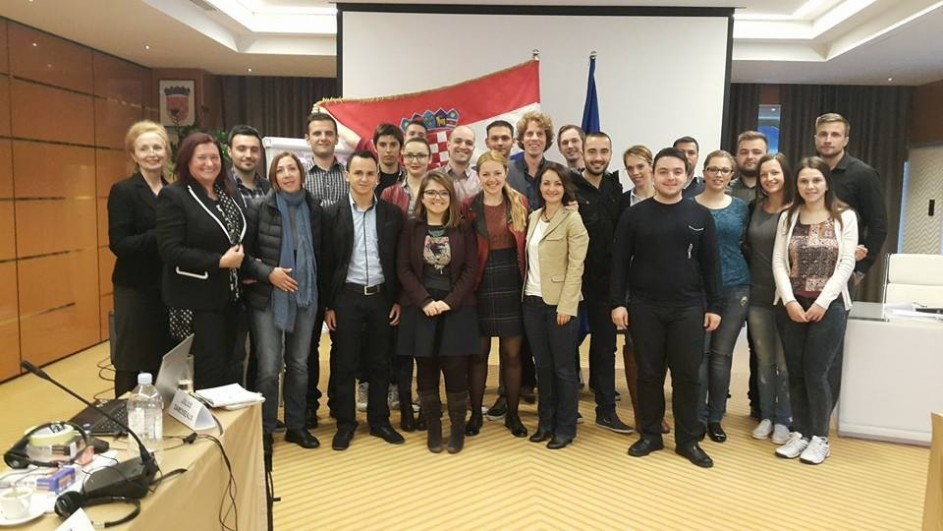 Promising Politicians in Zagreb: the EU inside out