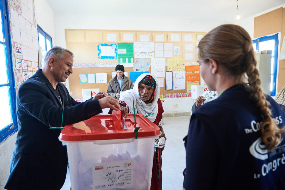 Low turnout and splintered votes showcase discontent among Tunisians in parliamentary elections
